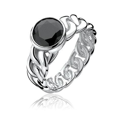 Zinzi Zwarte Ring Zir656