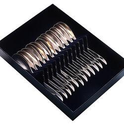 Zilver theelepels model 210 set van 12