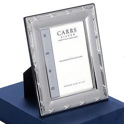 Zilveren fotolijst reed & ribbon Carrs Lrw289