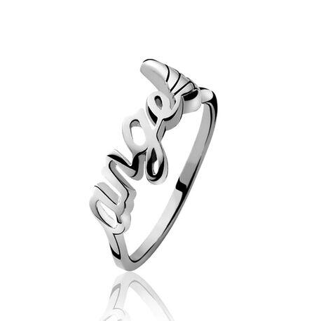 Zilveren ring voor kinderen angel zbfr13