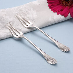 Zilveren zuurvorken waaiermodel