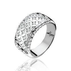 Zinzi ring breed met leuk motief Zir663