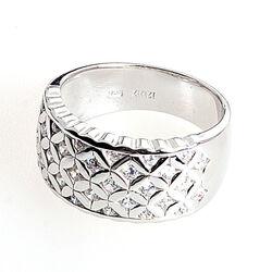 Zilveren ring met mooi motief ZINZI ZIR663