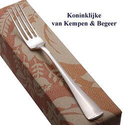 Zilveren dinervork Haags Lofje 21 cm