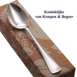 Zilveren dinerlepel 21 cm. Haags Lofje