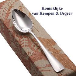 Zilveren dessertlepel Haags Lofje 18 cm