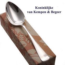 Van Kempen zilveren groentelepel Haags Lofje