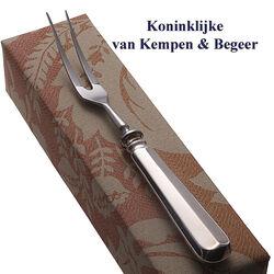 Voorsnijvork zilveren heft Haags Lofje