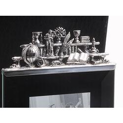 Zilveren fotolijst antiquiteiten Raspini