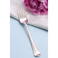 Zilveren dessertvork 16 cm.