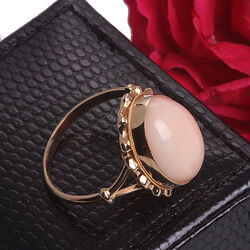Scognamiglio Gouden Ring Babykoraal