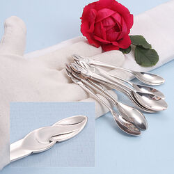 10 zilveren theelepels Hooijkaas