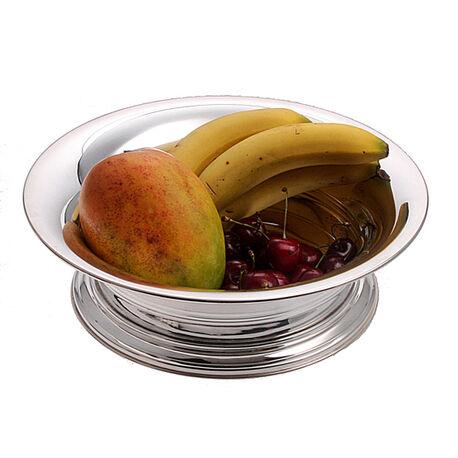 Verzilverde fruitschaal
