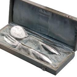 Zilveren gembercouvert van Kempen Voorschoten