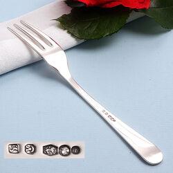 Zilveren Dessertvork 17 Cm.