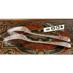 zilveren dinervork Hooijkaas model 3867