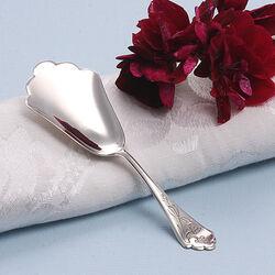 Zilveren theeschep van H.Hooijkaas