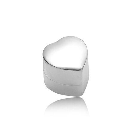 Zilveren ringendoosje Hart van Carrs