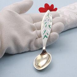 Zilveren Kerstmislepel Uit 1970