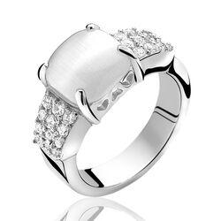 Zinzi Zilveren Ring Zir667