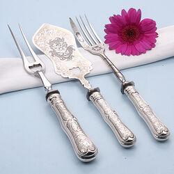 3 Delige serveerset zilver
