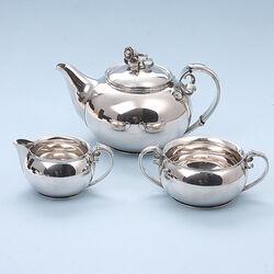 3 Delig zilver servies denemarken