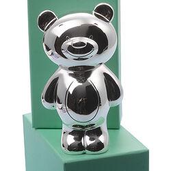 Verzilverde spaarpot Twinkle beer