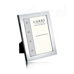 Zilveren fotolijst glad fprf3/w Carrs