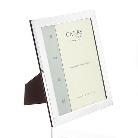 Grote zilveren fotolijst 25 x 20 cm Carrs fpr5/w