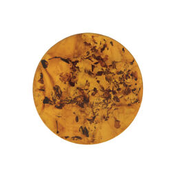 Amber schijfje 33mm MY iMenso
