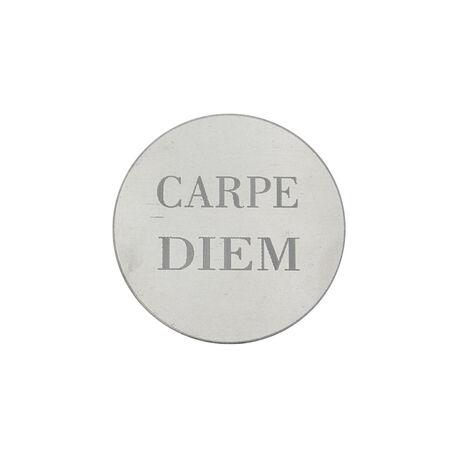 MY iMenso 24mm Zilveren Munt Gravure Carpe Diem 240285