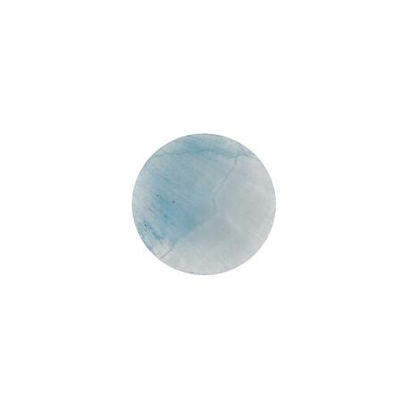 Lichtblauwe hemimorfiet steen bol 24 mm MY iMenso