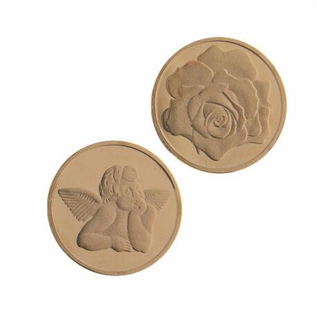 RoseVerguld Zilveren Insignia Engel Roos 330176