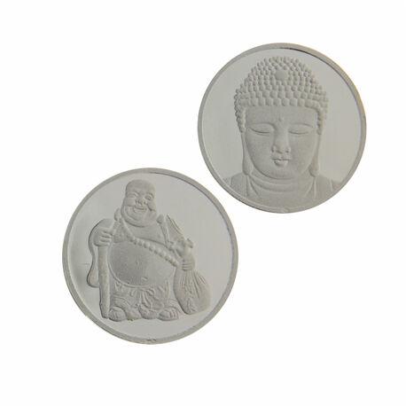 Zilveren Munt Insignia Boeddha 330171