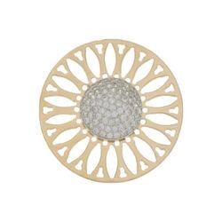 Zilveren insignia fantasie rosé 330243