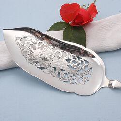 Zilveren visschep 19e eeuws