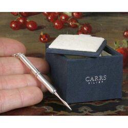 Zilveren tandenstoker van Carrs Sheffield