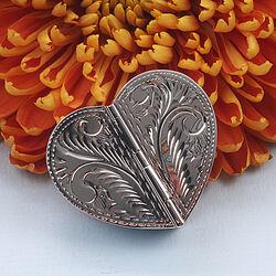 Zilveren Pillendoosje Hart