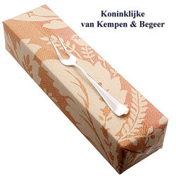 Zilveren Belegvorkje Haags Lofje 14 Cm.