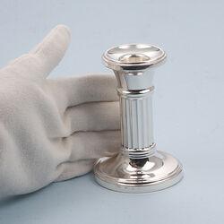 Zilveren Kandelaar Ribbuis