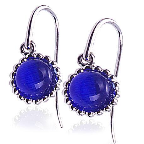 Blauwe oorbellen Zinzi