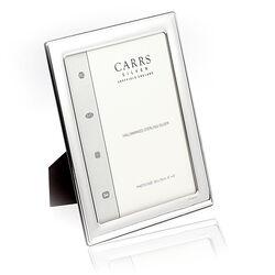 Zilveren fotolijst 20 x 15 cm Carrs fr066/w