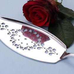 Zilveren visdienschep model 250