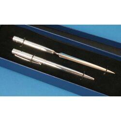 Zilveren pen met briefopener