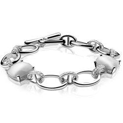 SuperSale Zinzi armband wit zirconia Zia627