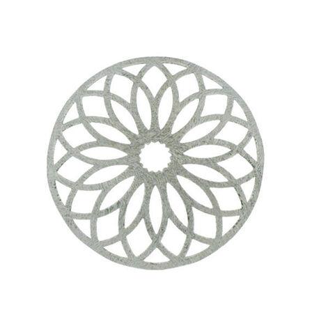 MY iMenso Zilveren Bolle Cover bloem 330351