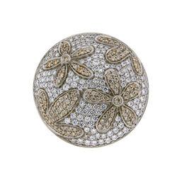 Zilveren Spherique munt bloem 330569 MY iMenso