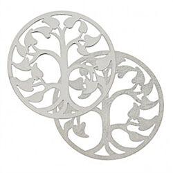 Zilveren cover levensboom 330593