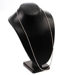 Zinzi ketting beads 70 cm zilver