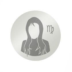 Zilveren Graveermunt Sterrenbeeld Maagd 330629